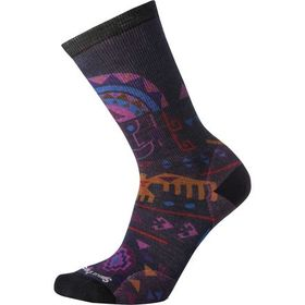 Smartwool Totem Valley Print Crew Sock - Women's