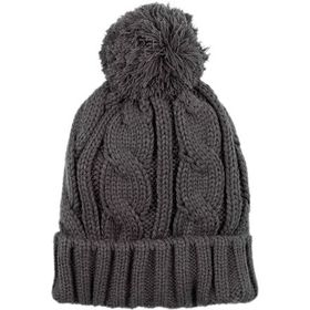 Basin and Range Cable Pom Beanie - Women's