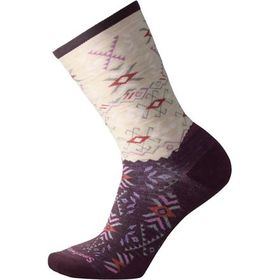 Smartwool Falling Arrow Crew Sock - Women's