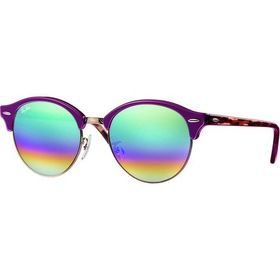Ray-Ban Clubround Mineral Flash Lens Sunglasses