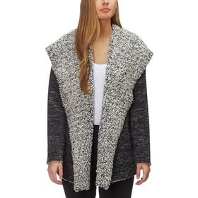 Dylan Slub Bonded Frosty Tipped Pile Hooded Jacket