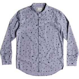 Quiksilver Valley Groove Print Long-Sleeve Shirt -