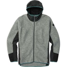 Burton Minturn Hooded Full-Zip Fleece Jacket - Men
