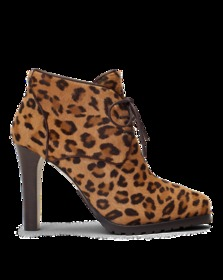Wynter Leopard Haircalf Boot