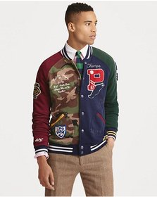 Patchwork Baseball Jacket