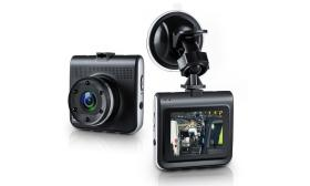 """2 Pack of 2.2"""" HD DVR Dash Cams w/ Night Vision"""