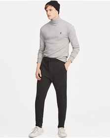 Soft-Touch Cotton Turtleneck