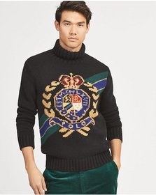 Crest Wool Turtleneck Sweater