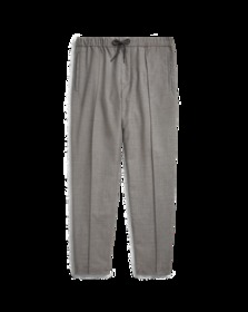 Relaxed Fit Wool-Blend Pant
