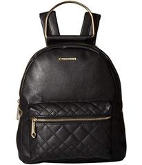Rampage Metal Handle Backpack with Quilted Pocket