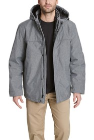 Dockers 3-in-1 Hooded Soft Shell Systems Jacket