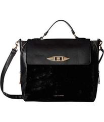 Rampage Faux Fur Satchel