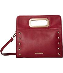Rampage Clutch with Metal Handles and Crossbody St