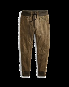 Quilted Jersey Pant