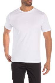 Theory Solid Cotton Crew Tee