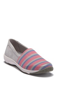 Dansko Harriet Contrast Suede Slip-On Sneaker
