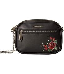 Rampage Embroidered Floral Crossbody