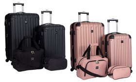 Travelers Club Midtown Hardside Spinner Luggage Se
