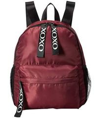 XOXO Nylon Backpack w\u002F Logo Webbing