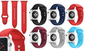 WalvoDesign Silicone Strap for Apple Watch Series