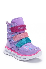Skechers Lumi Luxe Sparkle Light-Up Sneaker (Toddl