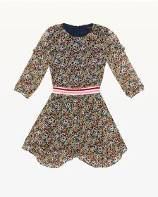 Juicy Couture Floral Frenzy Georgette Dress for Gi