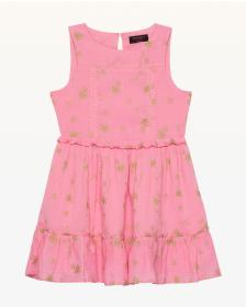 Juicy Couture Foil Bee Print Dress for Girls