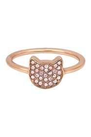 Karl Lagerfeld Silhouette Choupette Ring - Size 7