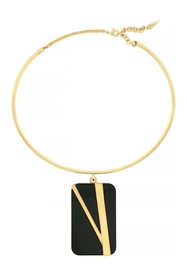Botkier Line Flex Wire Cuff Necklace