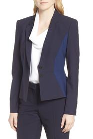BOSS Jolia Patchwork Jacket (Regular & Petite)