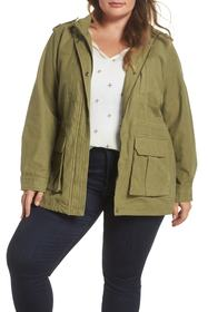 Levi's Levi's(R) Cotton Fishtail Field Jacket (Plu