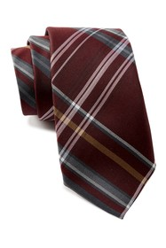 Ben Sherman Landrik Plaid Silk Tie