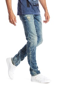 Rogue Acid Wash Slim Fit Jeans