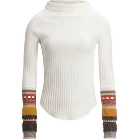 Free People Mixed Up Cuff Top - Women's