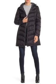 Lucky Brand Missy Hooded Puffer Jacket
