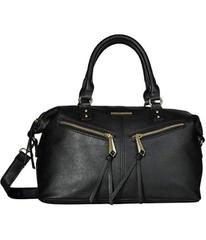 Rampage Zipper Top-Handle Satchel