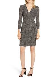 Anne Klein Faux Wrap Jersey Dress