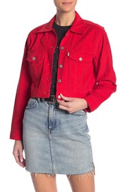 Levi's Cropped Trucker Vintage Jacket