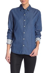 Levi's Ultimate Boyfriend Buttoned Back Shirt