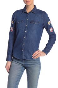 Levi's Ultimate Western Embroidered Button Down Sh