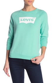 Levi's The Graphic Classic Long Sleeve Logo Crew N