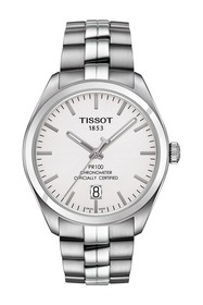Tissot Men's PR 100 Powermatic 80 COSC Bracelet Wa