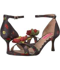 Betsey Johnson Black Floral