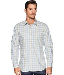 Calvin Klein Heather Melange Plaid Sport Shirt