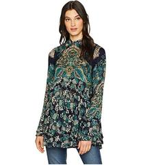 Free People Lady Luck Printed Tunic