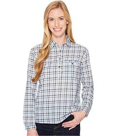 The North Face Dusty Blue Gingham
