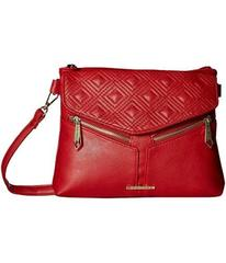 Rampage Diamond Double Quilted Crossbody