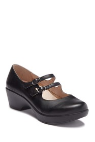 Dansko Josie Leather Mary Jane Pump
