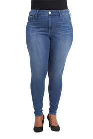 Seven7 Seamless Skinny Jeans (Plus Size)