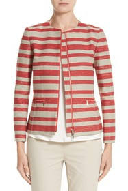 Lafayette 148 New York Kerrington Stripe Jacket